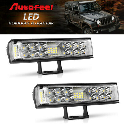 Curved 3ROW 22INCH 945W LED Work Light Bar Spot Flood 4WD Driving Truck Offroad