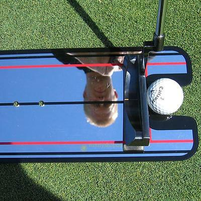 Golf Putting Mirror Alignment Training Aid Swing Trainer Eye Line Brand New