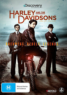 Harley and the Davidsons: Series 1  - DVD - NEW Region 4