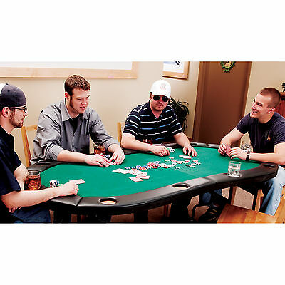 Fat Cat Trifold Poker Table Bundle ? For 10 Players