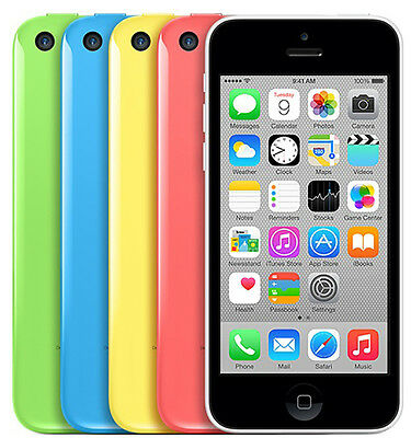 "Apple iPhone 5C 4S -8GB 16GB 32GB SIM Free GSM ""Factory Unlocked"" Smartphone"