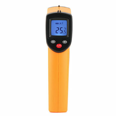 W&Nice Non-Contact LCD IR Laser Infrared Digital Temperature Thermometer Gun 7@&