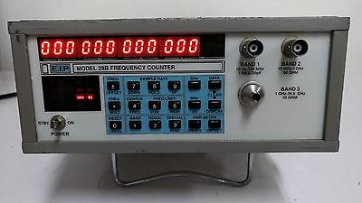 EIP 28B Frequency Counter, 10Hz to 26.5GHz, Power Meter, w/op05