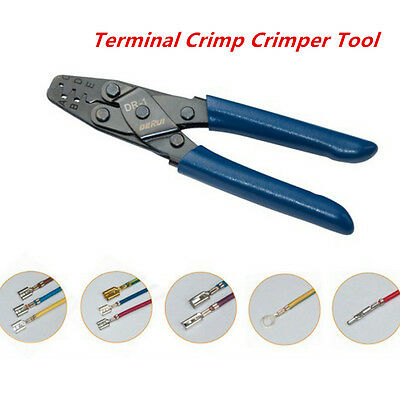 Blue Autos Car Crimper Tool Wiring Harness Terminals Crimper Strippers 10-22 AWG