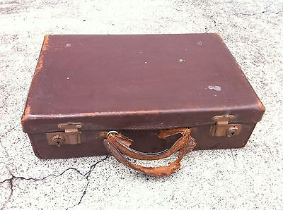 SMALL VINTAGE LEATHER CASE - FOR RESTORATION or DISPLAY