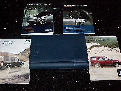 Range Rover Sport Owners Handbook/Manual and Pack