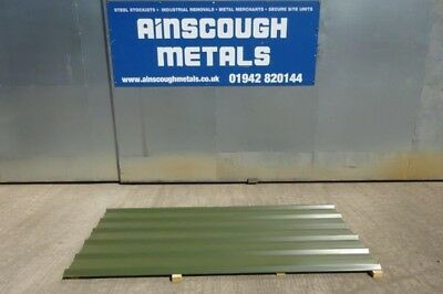 10 ft x 1.000 Mtr   Dark Green Roofing Sheets