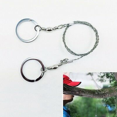 Gear Steel Wire Saw Bushcraft Commando Camping Hunting Emergency Survival Tools