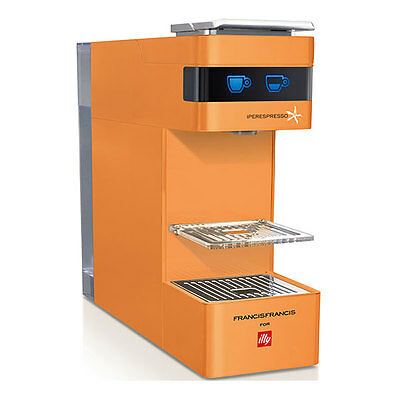 NEW coffee maker Y3 ORANGE machine ILLY Francis italian espresso capsules coffee