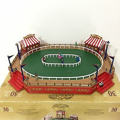 Mr Christmas Gold Label World's Fair Carriage Race Model Display W/ Box