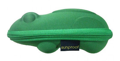 BABY BANZ NEW Boy's Sunglasses Case Green Frog BNWT