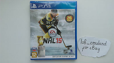 NHL 15 for Sony PS4 *FACTORY SEALED* PAL