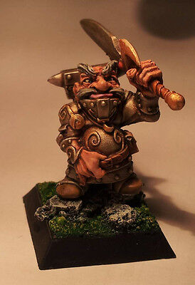 RARE OOP Rackham Dwarf Armourer #2 - perfectly painted