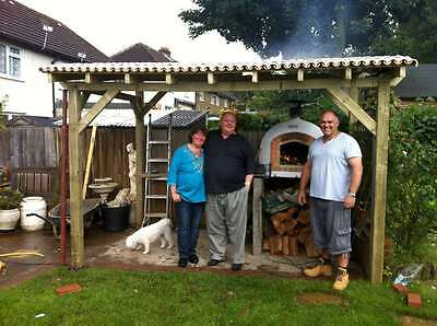 Brick Outdoor Wood Fired Pizza Oven Installation Service  * Amigo Ovens *