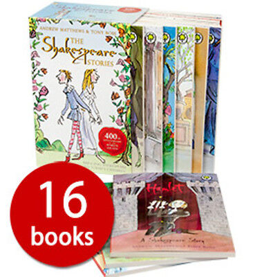 The Shakespeare Stories Box Set Collection - 16 Books