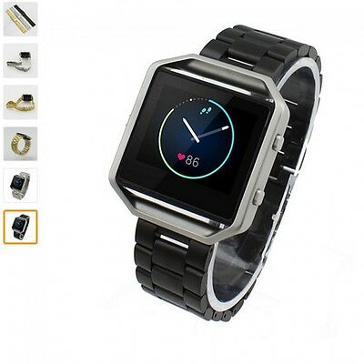 OEM Quality Steel Watchband Wrist Band Strap For Fitbit Blaze Activity Tracker