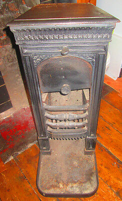 Cast Iron solid fuel fireplace