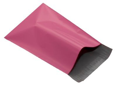 """Pink 9 x 12"""" 230 x 305mm Mailing Postage Postal Mail Bags Choose Qty"""