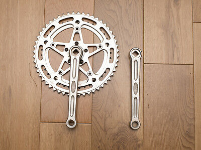 Vintage Stronglight crankset / chainset 170mm