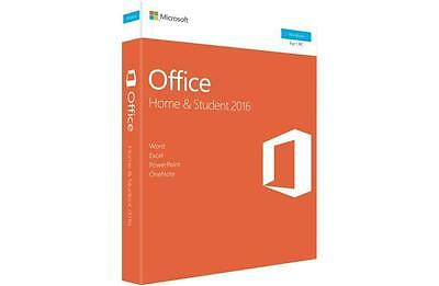 Genuine Microsoft Office Home and Student 2016 79G-04751 1PC Sealed Retail Pack