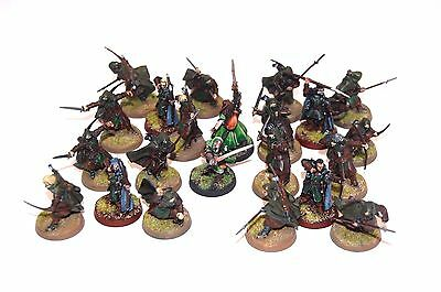 Warhammer LOTR The Hobbit well painted Arnor Grey Company North Army x22