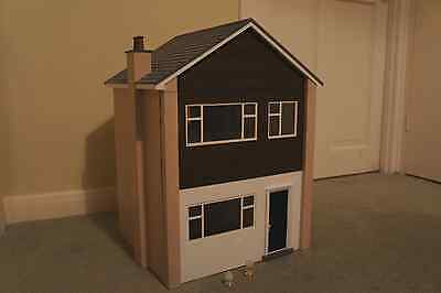 Dolls House Modern Home Style  Handmade  Battery Lights  1/12th scale