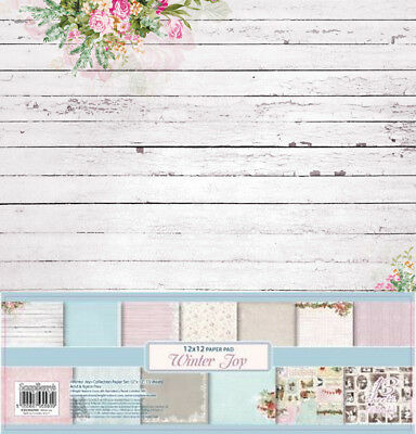"Scrapbooking Papier Set ""Winter Joy"" (13 Blatt) 30,5 x 30,5 cm 12"" (4,95€/m²)"