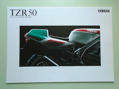 Yamaha TZR50 Brochure. (In Japanese)