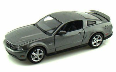 2011 Ford Mustang GT, Grey - Maisto 31209 - 1/24 scale diecast model car