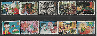 1) GB Stamps 1993 Greetings Gifts. Good Used Set.