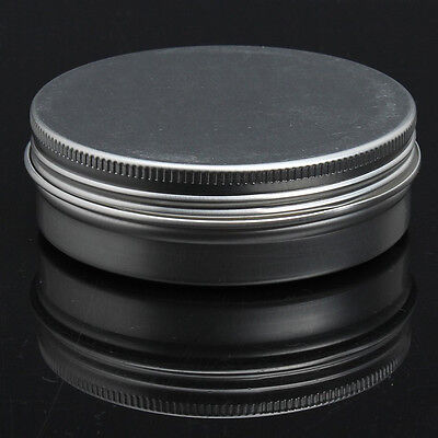 L308 5 x Empty Cosmetics Pot Lip Balm Tin Jar Container screw 100ml
