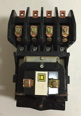 SQUARE D - LO 40 8903LO40-V04 Series B, 20 Amp Lighting Contactor 277 V Coil