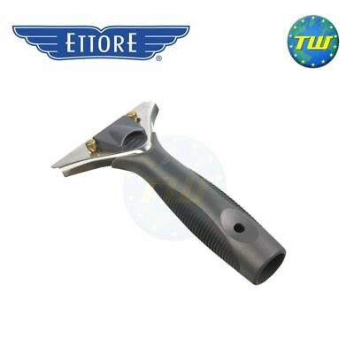 Ettore Stainless Steel ProGrip Quick Release Squeegee Handle for Window Cleaning