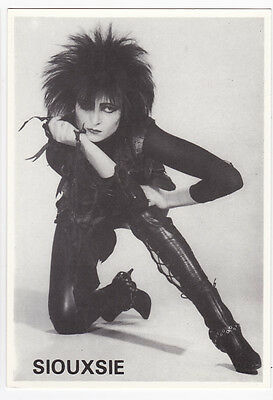SIOUXSIE AND THE BANSHEES carte postale