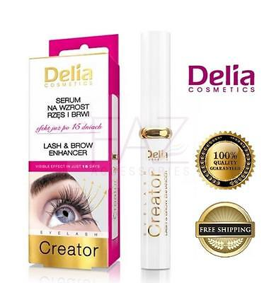 New Delia Cameleo Eye Lashes & Brow Enhancing Lash Conditioners Serum 7Ml