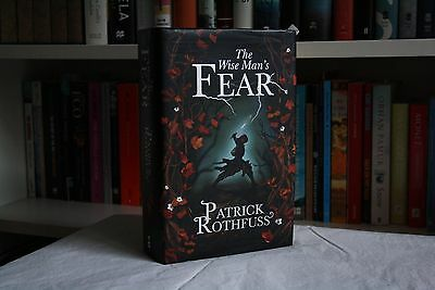 Patrick Rothfuss, 'The Wise Man's Fear', SIGNED first edition 1st/1st