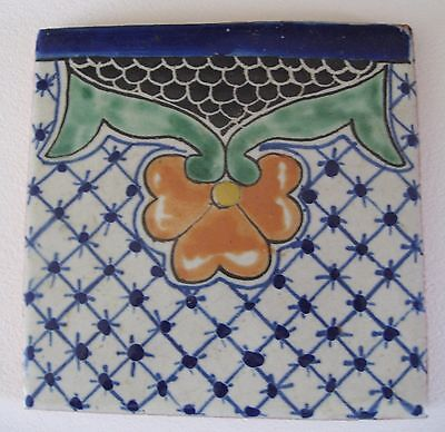 Beautiful hand made Mexican Clay Tile