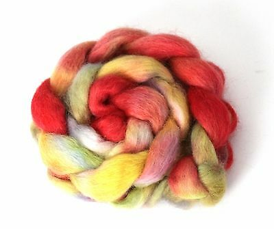 Shunklies Hand Dyed Massam Wool Combed Top 100g Mas11