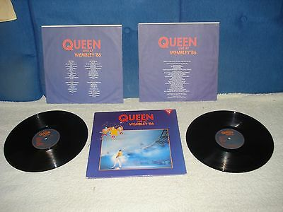Doble  Lp- Queen- Live At Wembley ´86  Made In Spain 1992