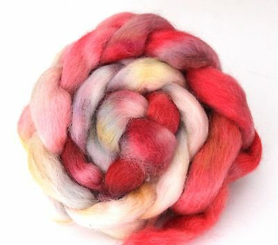 Shunklies Hand Dyed Massam Wool Combed Top 100g Mas3