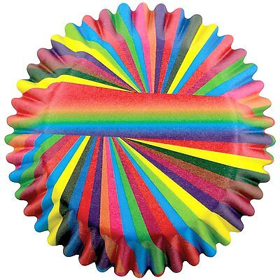PME Snazzy Stripes Paper Baking Cases for Cupcakes Standard Size Pack of 60