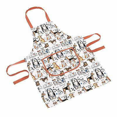 Mad About Cooking 60 x 80 cm Small Apron It's A Dog's Life Multi-Color
