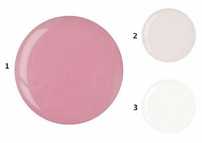 Cuccio Powder Polish Nail Dipping Acrylic System 45g - Clear, French Pink, White