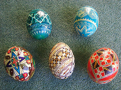 Real Eggs - Blown, Hand Painted and Individually Decorated.