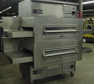 MIDDLEBY MARSHALL PS360WB Doublestack Gas Conveyor Pizza Ovens - Warranty Avail.