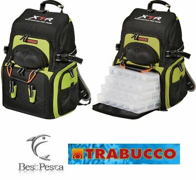 TRABUCCO ZAINO EXPEDITION - serie XTR SURFCASTING PRO TEAM