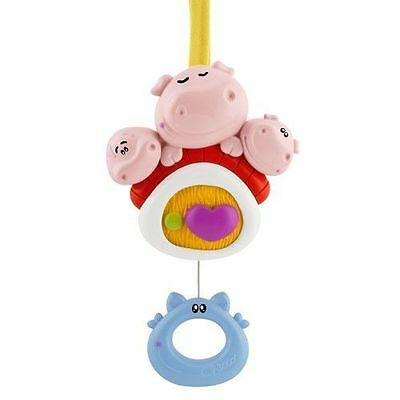 Chicco 3 Little Pigs Musical Cot Cotbed Toy Mobile New