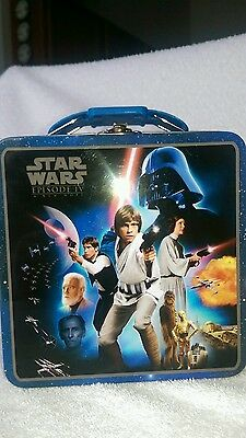 STAR WARS Classic Episode IV A New Hope - Metal Mini Lunch Box Tote