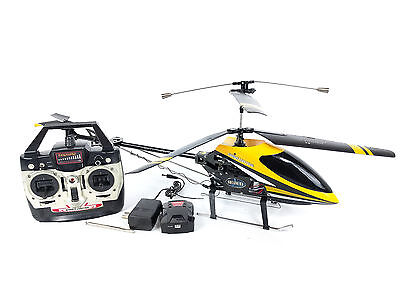 """Double Horse 9101 Radio Control Helicopter 26"""" Long 4 Channel WORKS"""