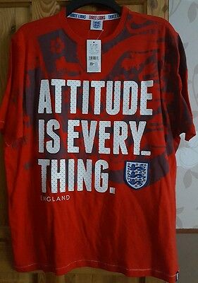 Men's England George T-Shirt Size Xl *new With Tags*